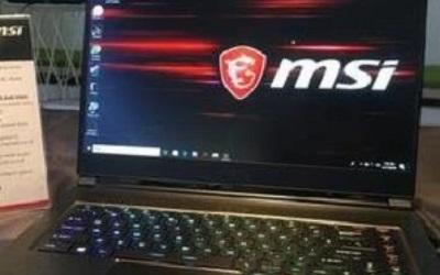 微星GS65笔记本用大白菜U盘安装win10系统的操作教程