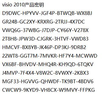 visio,密钥,visio 2010 产品密钥,visio 2010如何激活